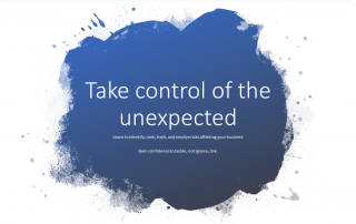 Take control of the Unexpected Cover
